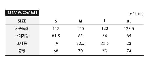 타미진스(TOMMY JEANS) TJM CONTRAST ZIP POPOVER T32A1WJC061MT1 XNL
